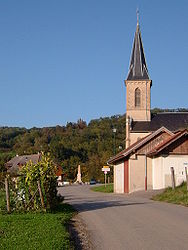 The church in Boussy