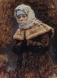 Boyaryna Morozova by V.Surikov - sketch 18.jpg