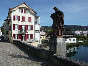 Dornach - Image: Brückenheilige Johannes Nepomuk