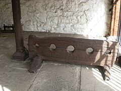 Brading Old Town Hall stocks