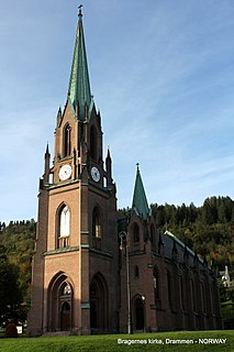 Church in Buskerud, Norway