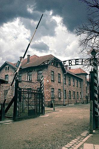 Auschwitz-Birkenau Memorial and Museum - Entrance to Auschwitz I, 2014