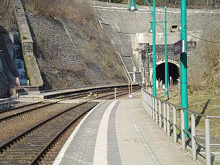 Brandleite Tunnel railway tunnel