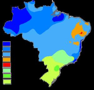 Carte Climat Bresil.Climat Du Bresil Vikidia L Encyclopedie Des 8 13 Ans