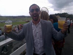 Brendan Devenney - Image: Brendan Devenney at the Races