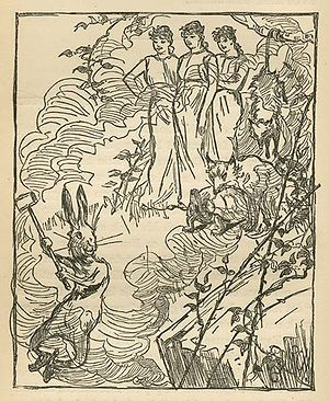 Br'er Rabbit - Br'er Rabbit's dream, from Uncle Remus, His Songs and His Sayings: The Folk-Lore of the Old Plantation, 1881