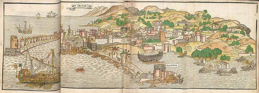 Breydenbach Rodis 1486 (1st German edition).jpg