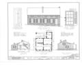Brick Cottage, 408 South Dodge Street, Galena, Jo Daviess County, IL HABS ILL,43-GALA,12- (sheet 1 of 1).png