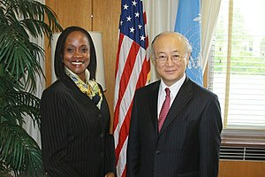 English: U.S. Assistant Secretary Esther Brimm...