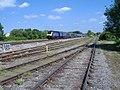 Bristol train passes Wootton Bassett - geograph.org.uk - 442262.jpg