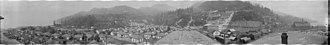Britannia Mines Concentrator - Image: Britannia Mining and Smelting Co, town and waterfront, Britannia Beach (5456678663)