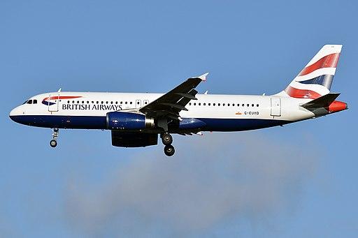 British Airways, G-EUYD, Airbus A320-232