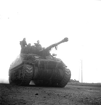 6th Armoured Division (South Africa) - Sherman Firefly as operated by the division in Italy.
