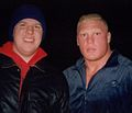 Brock Lesnar with Paul Billets.jpg