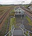 Brocklesby Station - Signal Box - geograph.org.uk - 663693.jpg