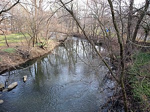 Bronx River - The Bronx River in Bronxville, Westchester County, NY