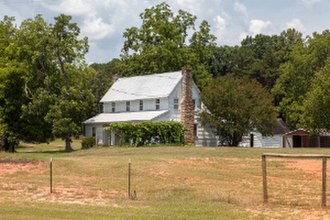 National Register of Historic Places listings in Banks County, Georgia - Image: Brooks family farm