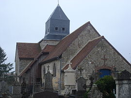 The church in Broussy-le-Petit