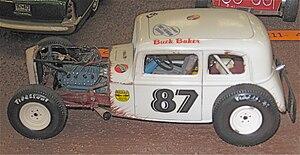 Buck Baker - Model kit of Baker's flathead-powered Modified