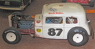 Buck Baker - Model kit of Baker's flathead-powered Modified