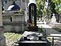 Bucuresti, Romania, Cimitirul Bellu Ortodox - Serban Voda (Mormantul sportivei Lia Manoliu).JPG