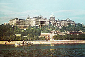 Alajos Hauszmann - View of Buda Castle