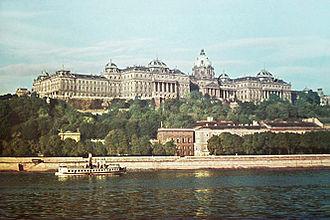 Alajos Hauszmann - View of Buda Castle