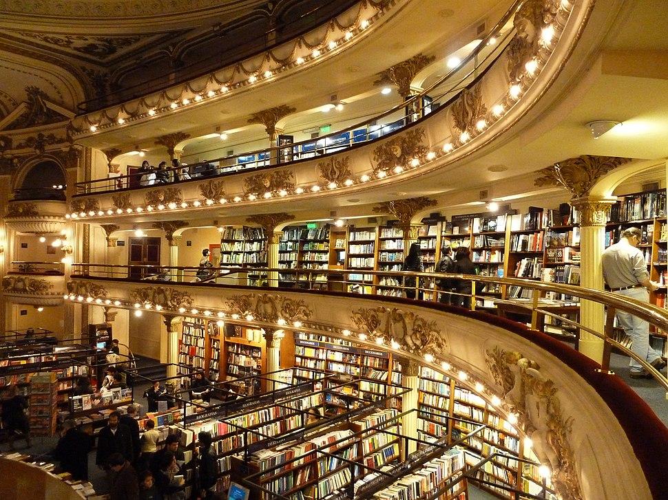Buenos Aires - Recoleta - El Ateneo ex Grand Splendid 1