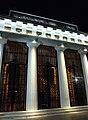Buenos Aires - Recoleta - Peristilo del Cementerio vista nocturna.JPG