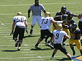 Buffaloes on offense at Colorado at Cal 2010-09-11 3.JPG