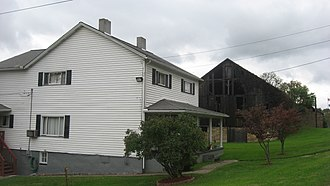 National Register of Historic Places listings in Fayette County, Pennsylvania - Image: Buildings at Brier Hill