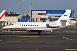 Bulgarian Government, LZ-OOI, Dassault Falcon 2000 (37433220351).jpg