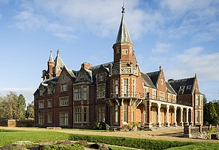 Bulstrode Park park and mansion in Buckinghamshire, England