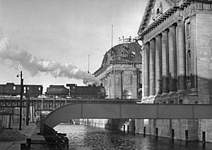 Museum Island - Museum Island with Pergamon and Bode Museum, 1951