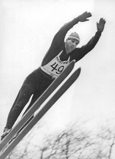 Recknagel Skispringer