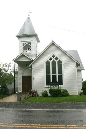 Burlington, West Virginia - Burlington Union Church, built c. 1892