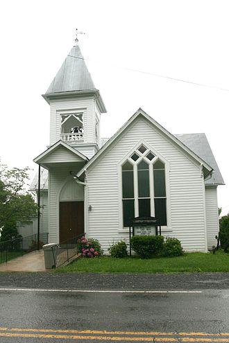 Burlington, West Virginia - Burlington Union Church, built c. 1892