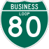 Interstate 80 Business marker