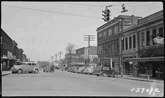 Lenoir City, Tennessee - Lenoir City in 1940