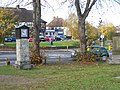 Busy Roundabout and Park Clock - geograph.org.uk - 1033169.jpg