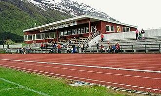 Gloppen FIL - Image: Byrkjelo stadion 05 05 28