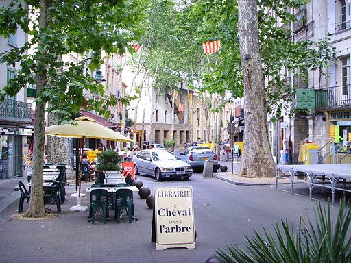 Céret, France, main street 2