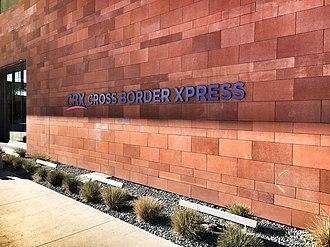 Cross Border Xpress - Image: CBX building sign