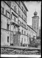 CH-NB - Brig, Stockalperschloss, Fassade, vue partielle - Collection Max van Berchem - EAD-7592.tif