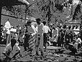 COLLECTIE TROPENMUSEUM Feestelijkheden op een rubberonderneming Oost-Sumatra. TMnr 60005417.jpg