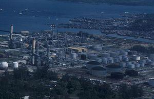 Balikpapan - Balikpapan oil refinery