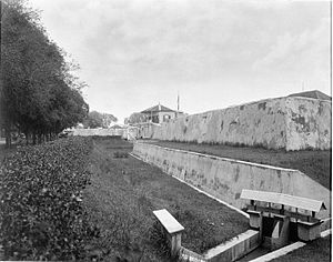 Fort Vastenburg - Fort Vastenburg in Surakarta.