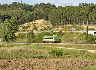 Ramal de Alfarelos Portuguese railway line