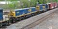 CSX Transportation - 1006 & 2443 diesel locomotives (Marion, Ohio, USA) 2 (42319411415).jpg