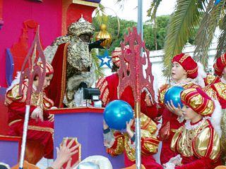 Cavalcade of Magi Christmas tradition